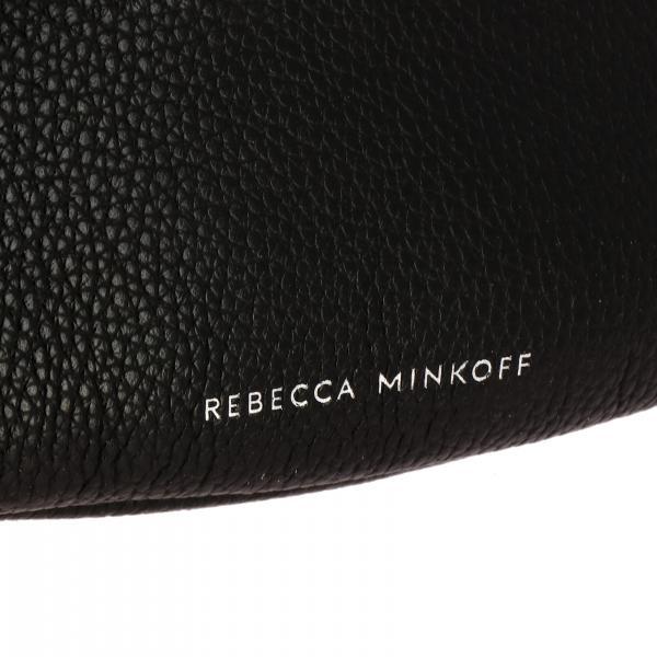Pelle Rebecca In Pf19spd039 Donna Con Marsupio Minkoff NeroMini Logo 0PnwOk