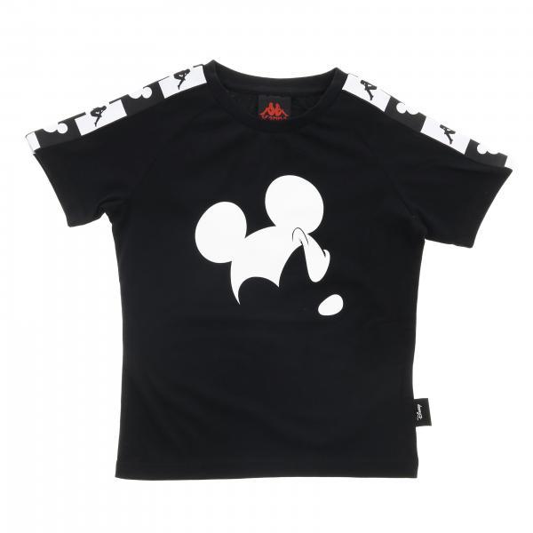T-shirt Authentic disney Kappa a maniche corte con logo mickey