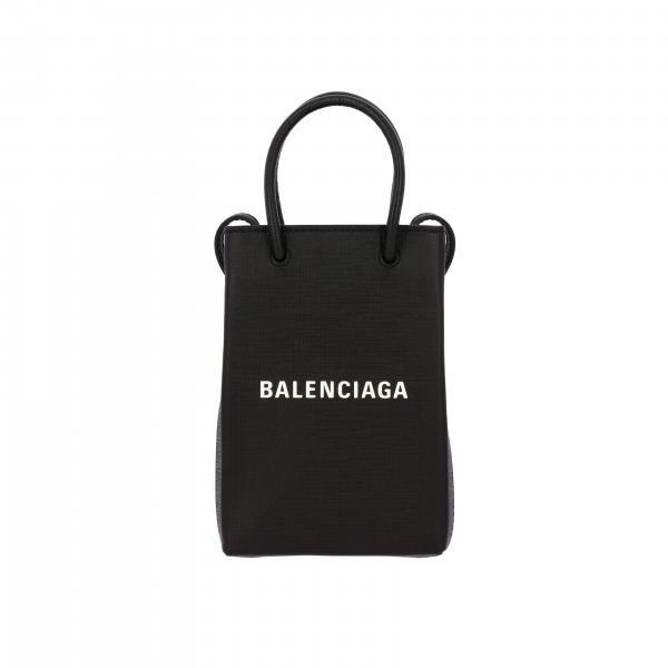Mini E Pelle BalenciagaIn Borsa 0ai2n Donna 593826 Tracolla Con Logo tCsQrdh