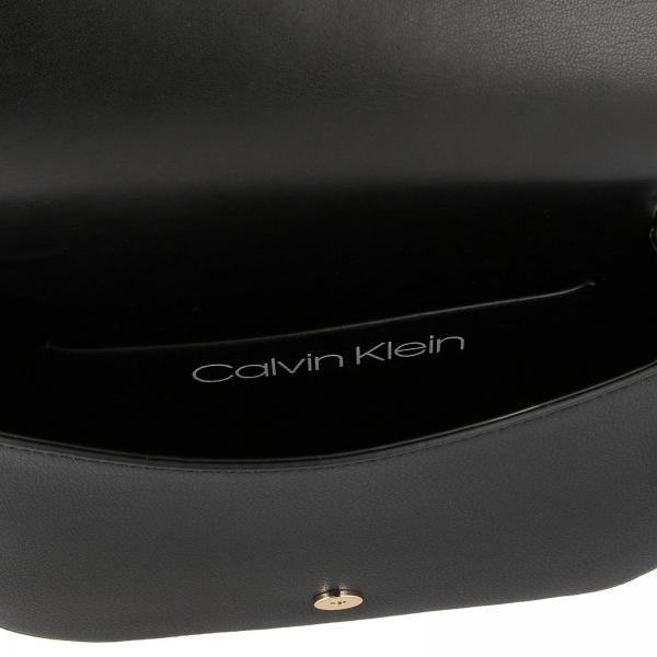 Calvin Borsa Metallico Pelle Con Maxi K60k605374 Donna Logo KleinDressed Up Mini In Ecologica TJc1uK3lF5