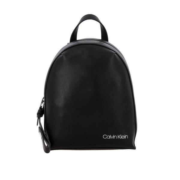 Zaino Stride Calvin Klein in pelle ecologica con logo