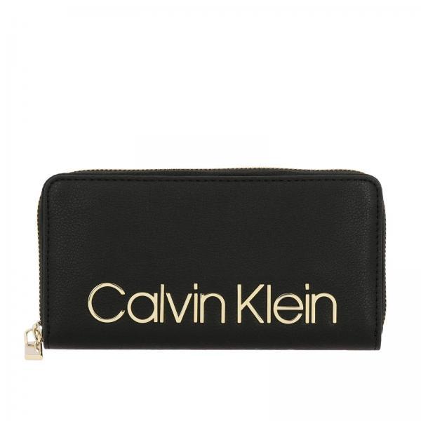 Portafoglio Ck must Calvin Klein in pelle sintetica con logo