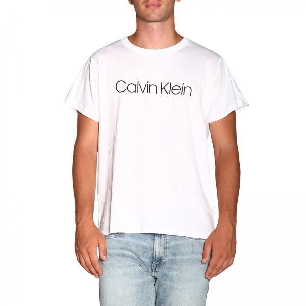 T-shirt con maxi stampa Calvin Klein