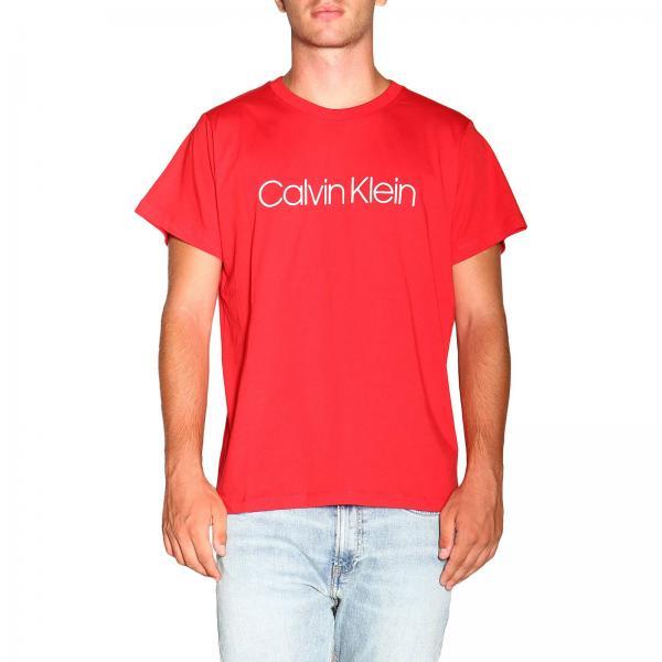 T-shirt with maxi Calvin Klein print