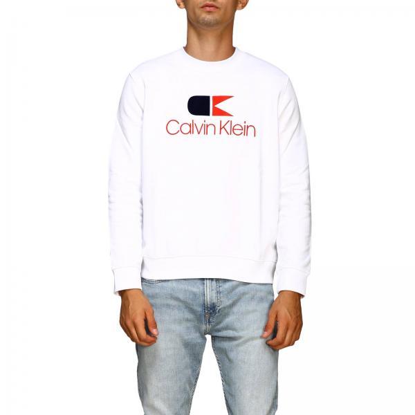 Calvin Klein crew neck sweatshirt with vintage logo