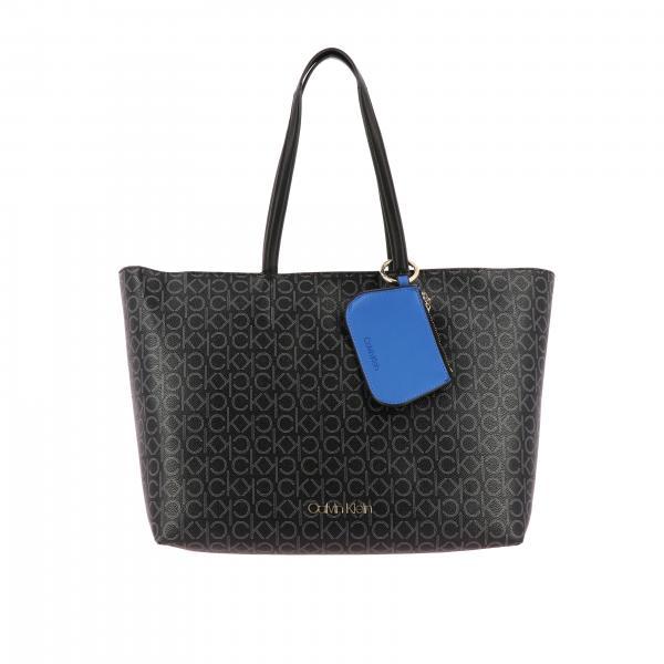KleinCk Spalla Shopping A Calvin Charm Borsa Donna K60k605867 Must Con XnwON80PkZ