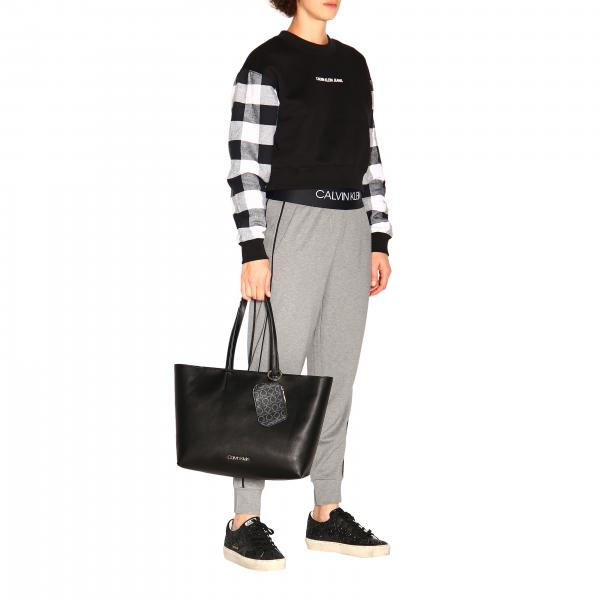 A Pelle Calvin Sintetica Clavin Must Spalla Logato Charm Bag Donna Shopping In Con K60k605870 KleinCk Borsa Nn0ywv8Om