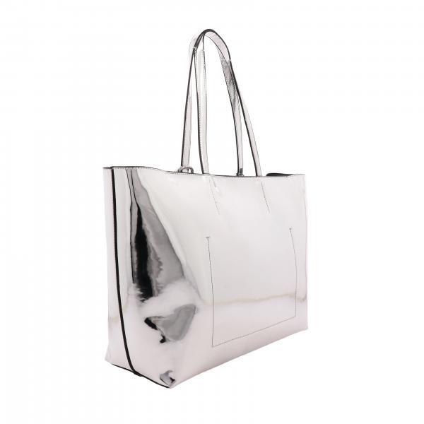 Must Calvin ArgentoCk In Large Donna Sintetica Borsa A Specchiata Shopping K60k605872 Klein Pelle Spalla rCsQxthd