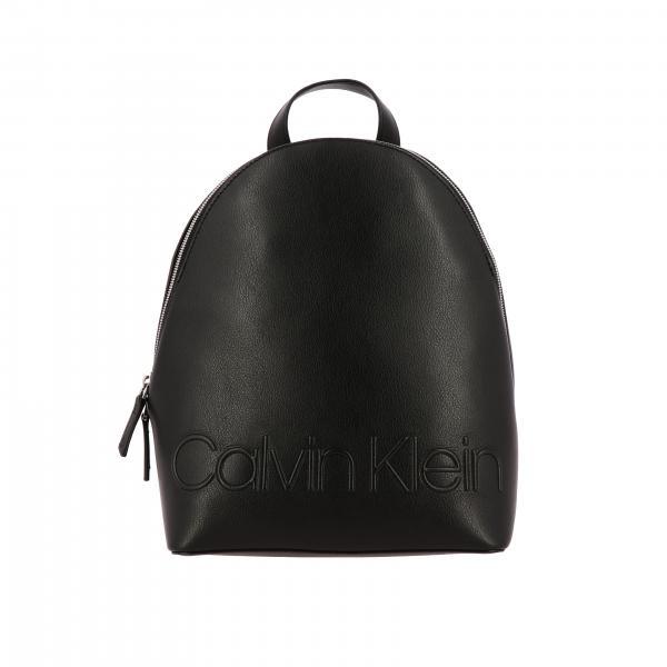 Zaino Rapid Calvin Klein in pelle sintetica con logo