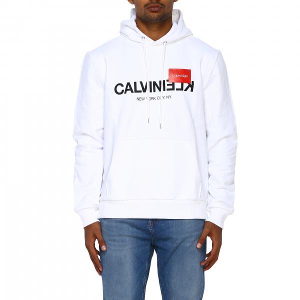 Felpa Calvin Klein con cappuccio e logo