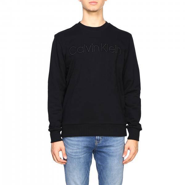 Calvin Klein Sweatshirt mit Rundhalsausschnitt und Logo