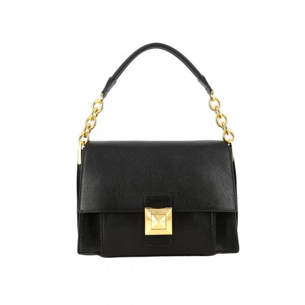 Diva Furla bag in fancy leather with handle and shoulder strap