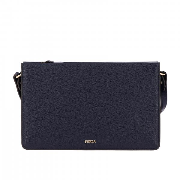 Furla Donna Ev63 1033127 Borsa In Pelle BlueBabylon Xl Crossbody Mini LSUzVjqpGM
