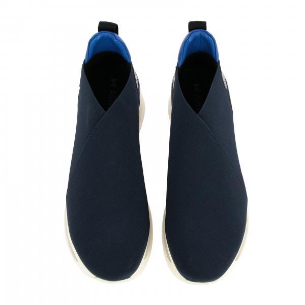 Sneakers Arkistar E BlueSlip Kg905 Con U Stretch Tecnico Pelle On Tessuto Eva Uomo Suola Gomma In xedCBo