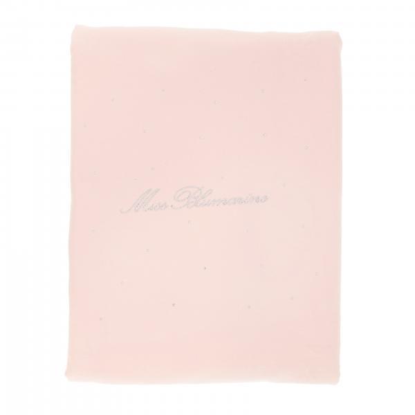 Piumone Miss Blumarine con logo di strass e rouches