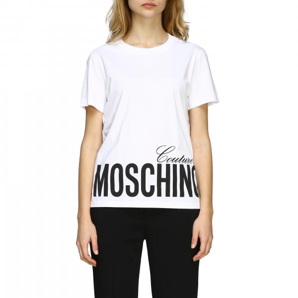 Moschino Couture T-Shirt mit Logo