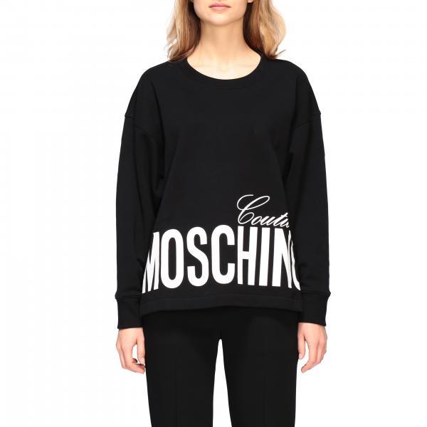 Толстовка с принтом Женское Moschino Couture