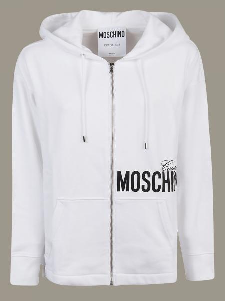 Moschino Couture logo印花卫衣