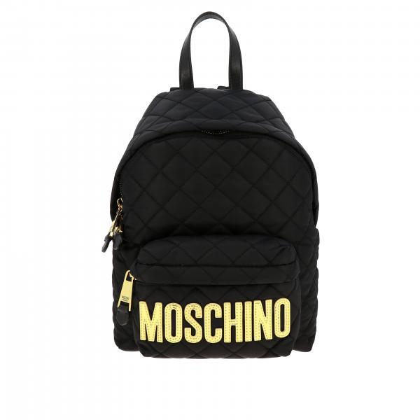 Рюкзак из нейлона Женское Moschino Couture
