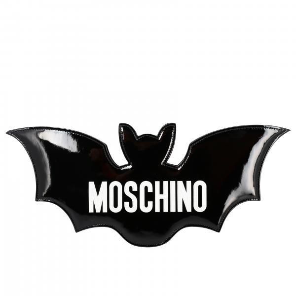 Moschino Couture logo 蝙蝠型手袋