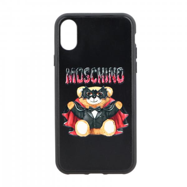 Iphone X Moschino Couture bat teddy cover