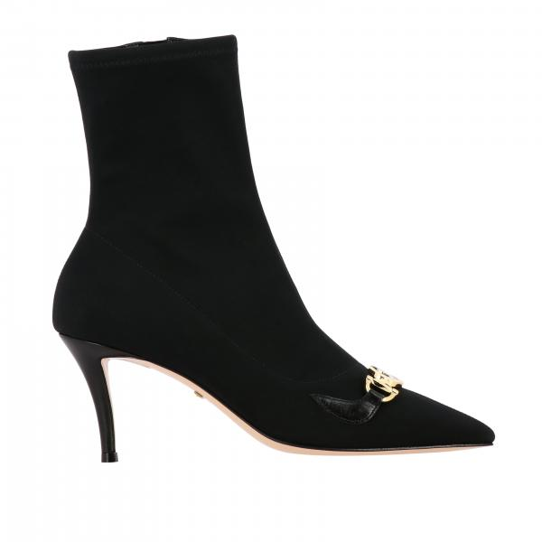 Gucci Zumi ankle boot in technical fabric with double G