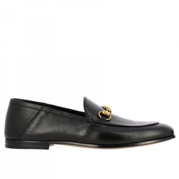 Gucci Brixton leather loafer with clamp