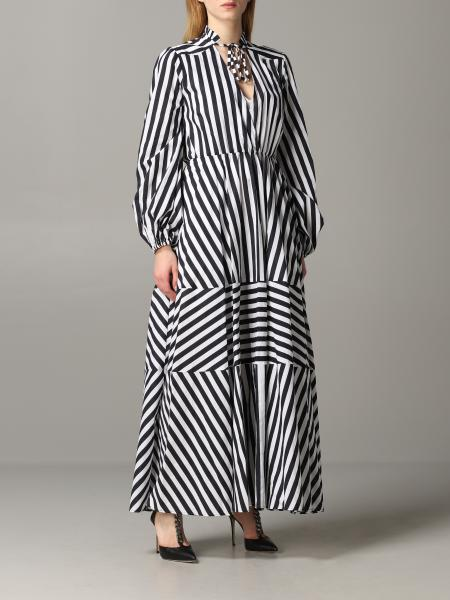 Pinko Cartoccio 1 striped dress