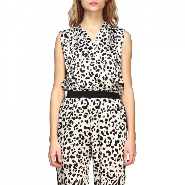 Pinko Body Ines 2 in spotted fabric
