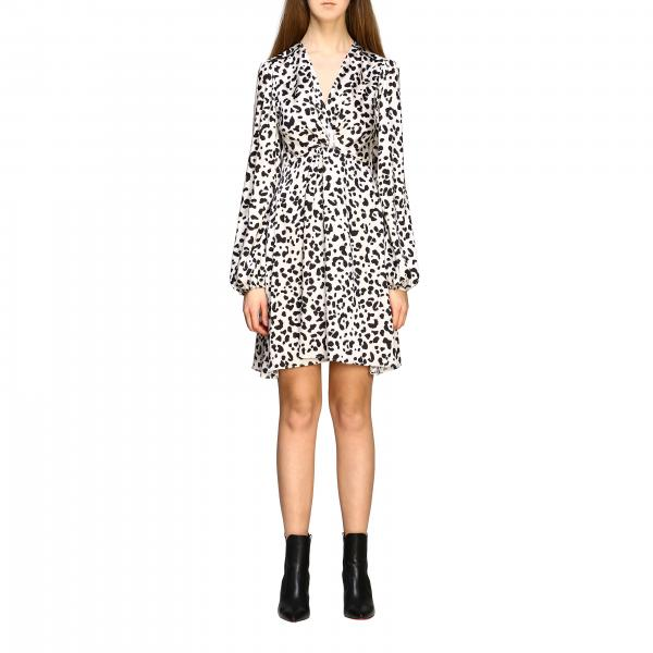 Pinko Frappe dress with spotted print