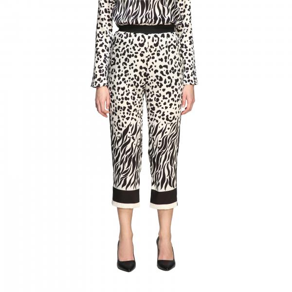 Pinko Pasticciotto trousers with spotted pattern