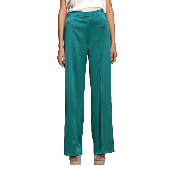 Calzone Pinko wide trousers in satin