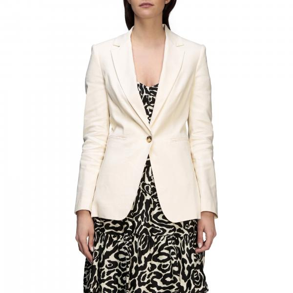 Pinko Misticanza 2 jacket in linen and viscose