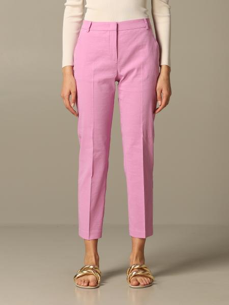 Pinko Bello 86 亚麻粘纤裤子