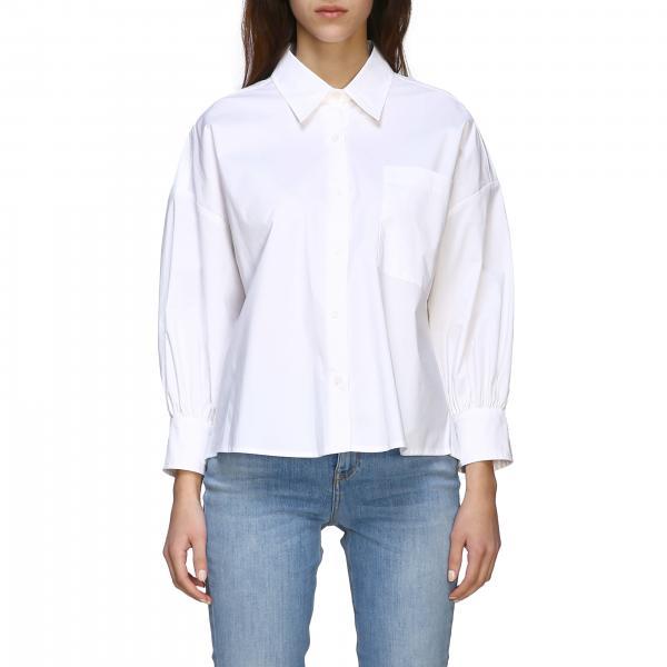 Camicia Kolbi 1 Pinko ampia in popeline