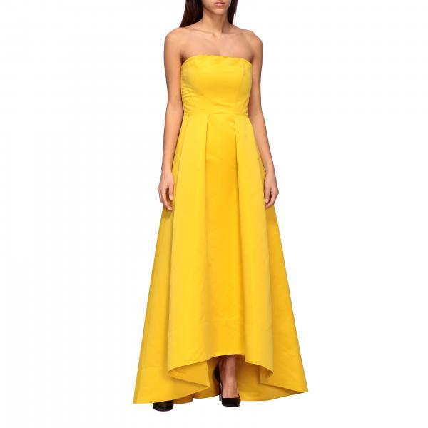 Платье длинное с декольте Женское Pinko