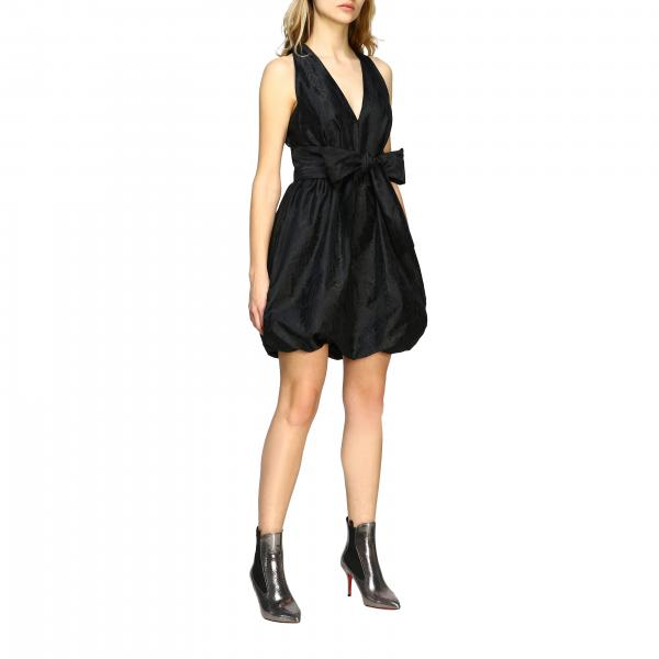 Pinko Orazio sleeveless dress with bow