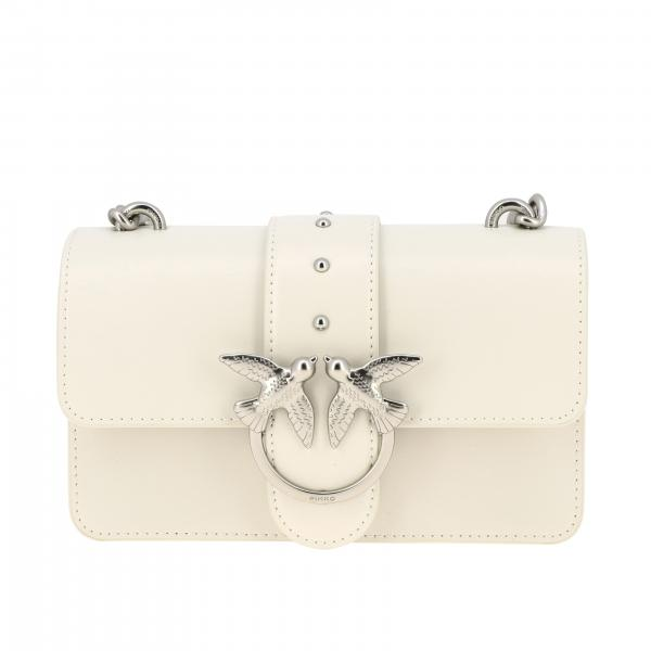 Borsa Love mini simply Pinko in pelle liscia
