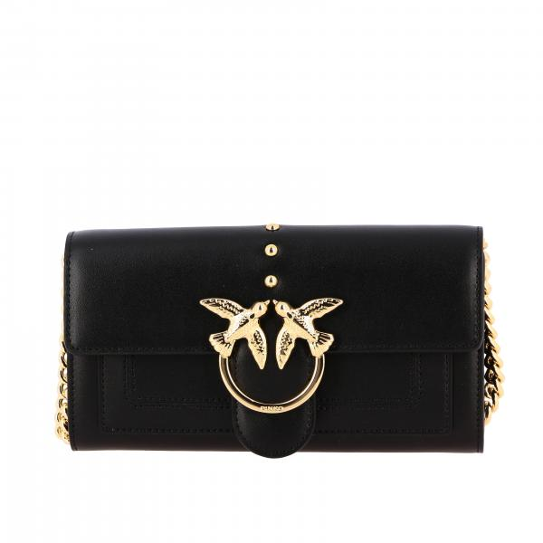 Borsa Love wallet simply Pinko in pelle