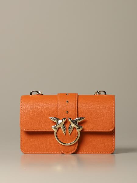 Pinko Love mini classic simply 1 bag in grained leather