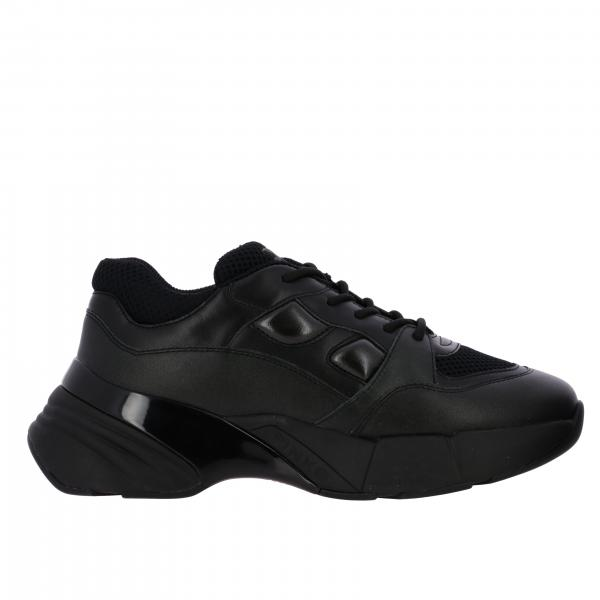 Sneakers Rubino 2 Pinko in pelle e rete imbottita