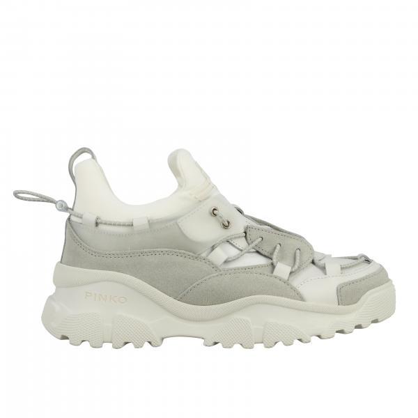 Sneakers Cumino 2 Pinko in pelle e camoscio