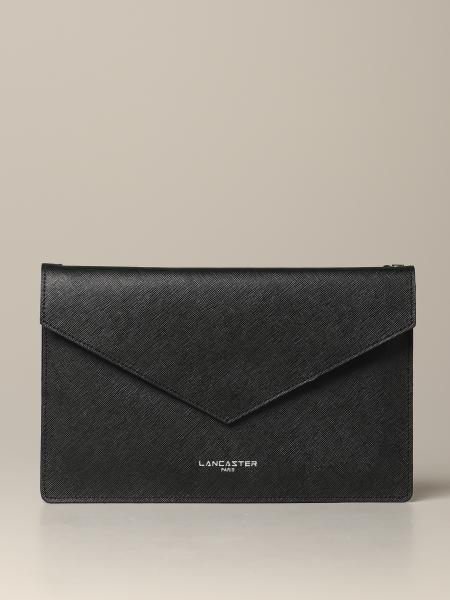 Lancaster Paris pouch in laminated leather