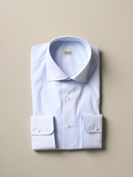 Alessandro Gherardi regular fit shirt with stripes