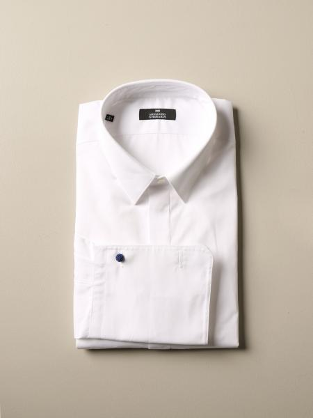 Alessandro Gherardi slim shirt with Italian collar