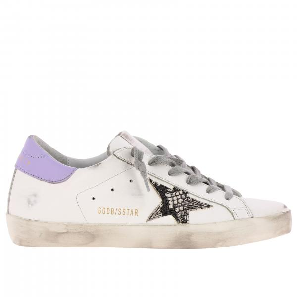 Superstar Golden Goose leather sneakers with star