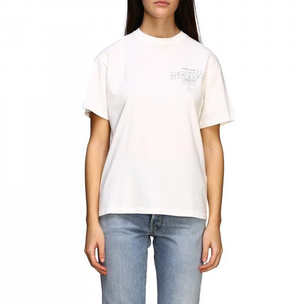 T-shirt Golden Goose a maniche corte con stampa posteriore