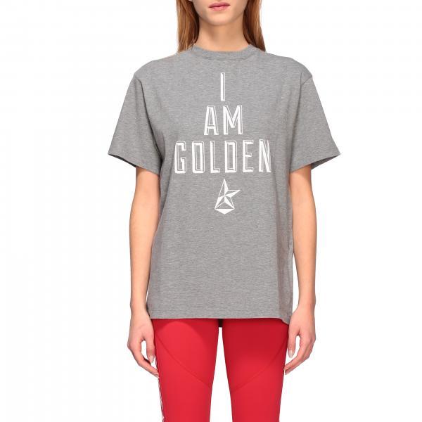 T-shirt Golden Goose a maniche corte con stampa I am golden