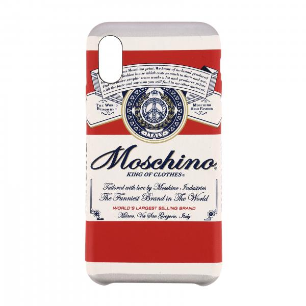 Capsule Collection Moschino X Budweiser Cover for Iphone X / XS