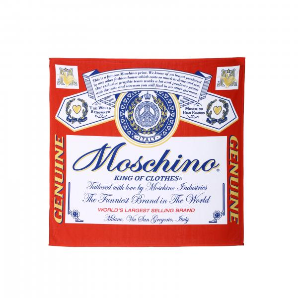Telo da bagno Capsule Collection Moschino X Budweiser